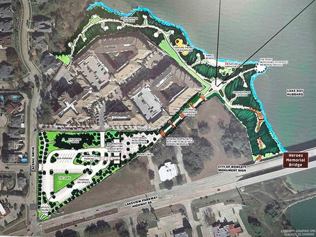 Blue Ribbon News: Heroes Bridge Memorial Park in Rowlett envisioned to be first of its kind in U.S.