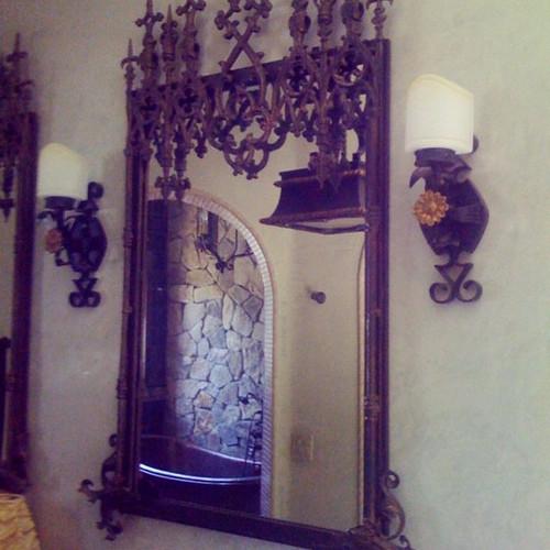 #mirror #furniture #architecture #metalf