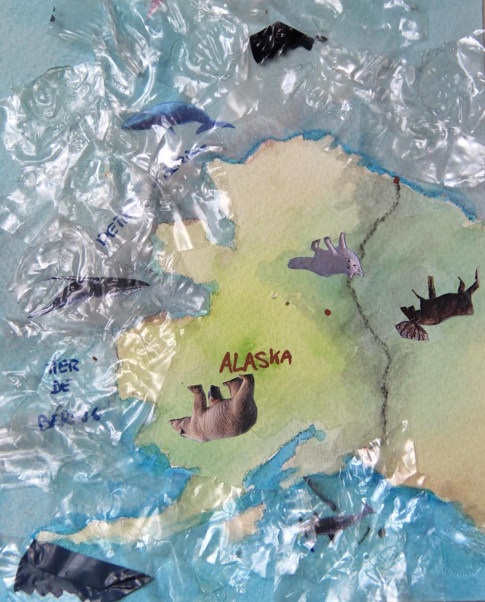 Carte Alaska