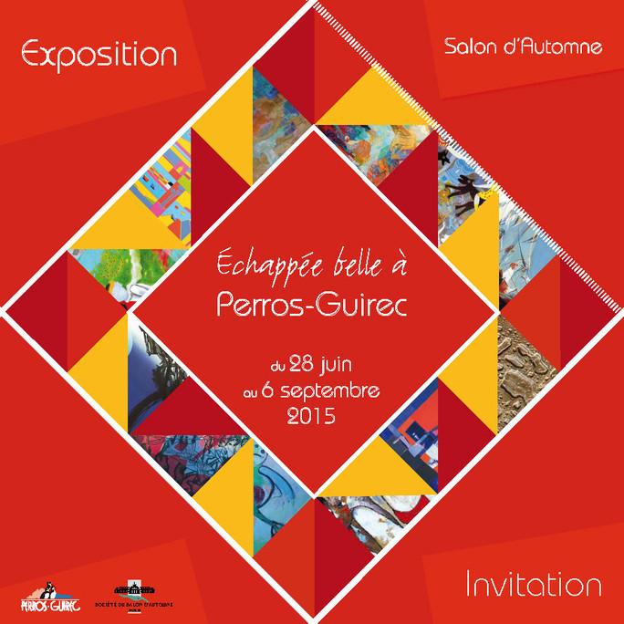 Exposition Echappée  belle à Perros Guirec