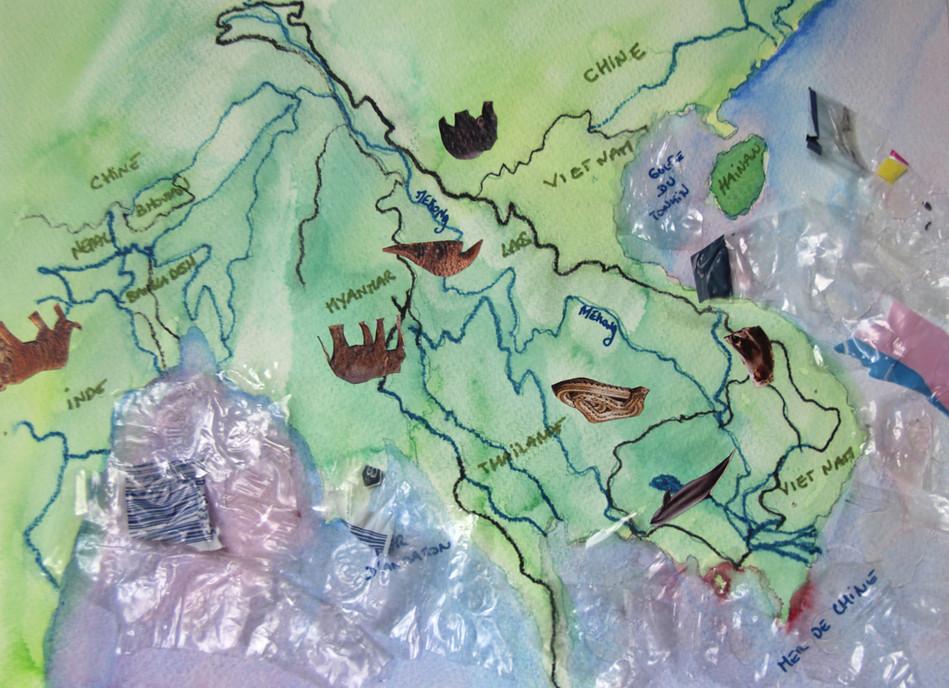 Carte Asie