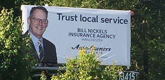 Trust Local Service with Bill Nickels and Auto Owners
