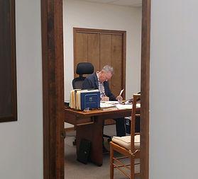 Bill Nickels working