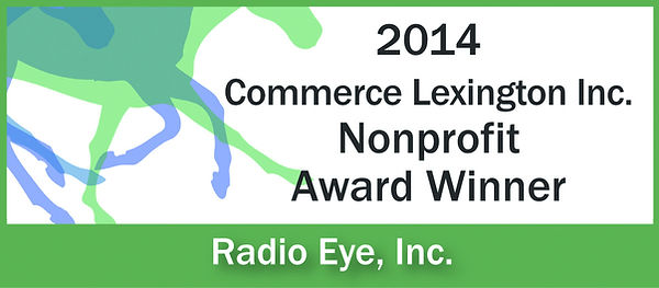2014 Commerce Lexington Nonprofit Award Winner: Radio Eye