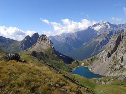 Un lac du massif des écrins.