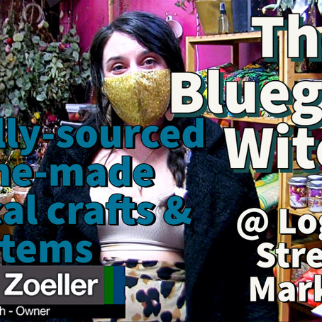 The Bluegrass Witch: Ethically-sourced, house-made magical crafts & items @ Logan Street Market