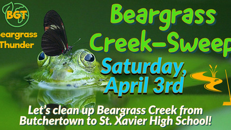 Beargrass Creek Community Creek-Sweep: Butchertown