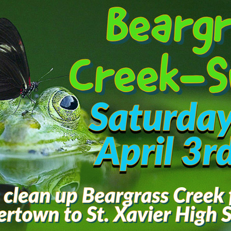Beargrass Creek Community Creek-Sweep: Butchertown