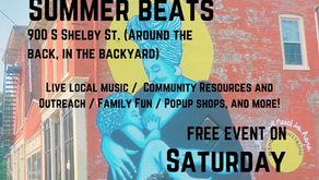 Beargrass Thunder Pop-Up @ Smoketown Summer Beats by Rhythm Science Sound: Sat, July 17th 4pm-7pm