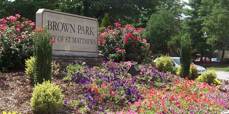 Brown Park in St. Matthews: Suburban Parks of Louisville