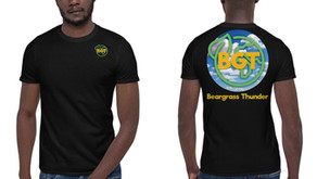 Beargrass Thunder launches online webstore with a limited run of graphic T-shirts
