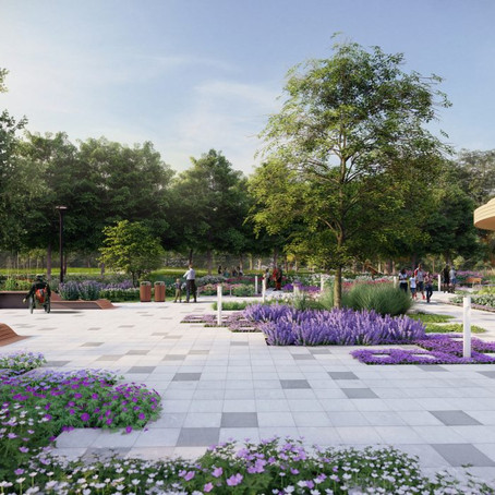 Waterfront Botanical Gardens Sneak Peek Tour: Opening Oct 4th!