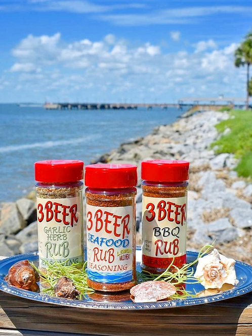 3 Beer Seafood Rub