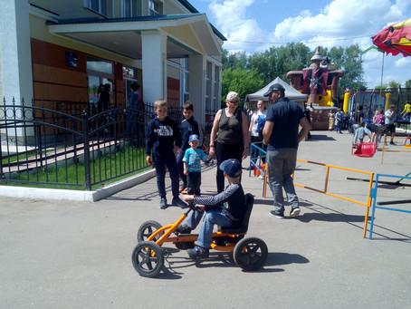 Детский праздник в КДЦ  «Заволжье»
