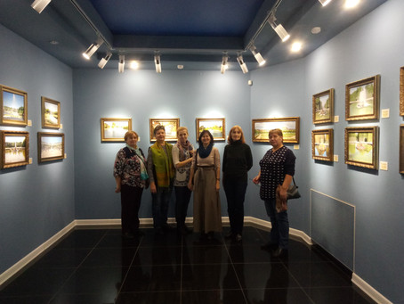 Экскурсия в выставочный центр «Радуга»