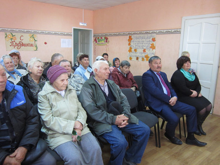 «День пожилого человека» в с.Рождествено