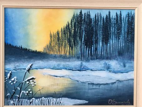 Выставка пейзажа Ольги Ермолаевой
