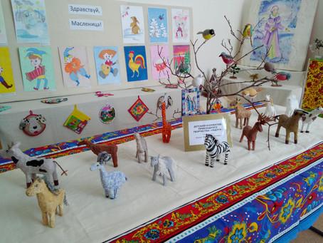 Выставка детских поделок