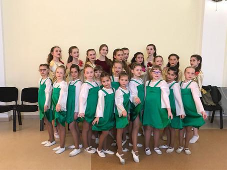 Дипломанты второй и третьей степени в Всероссийском конкурсе–фестивале хореографического искусства и