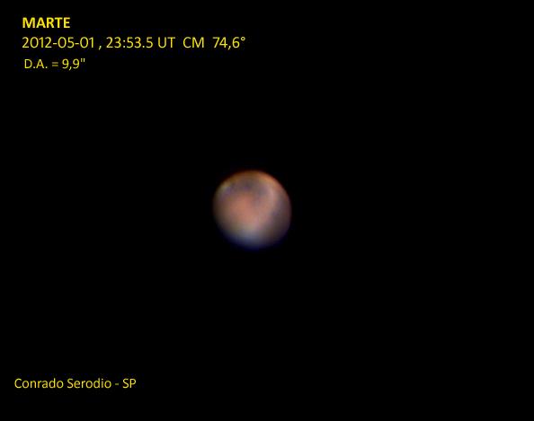 Marte em 2012
