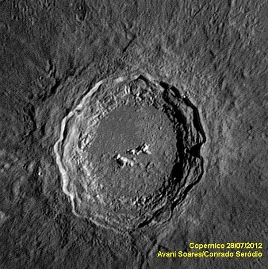 Lua - Cratera Copernicus