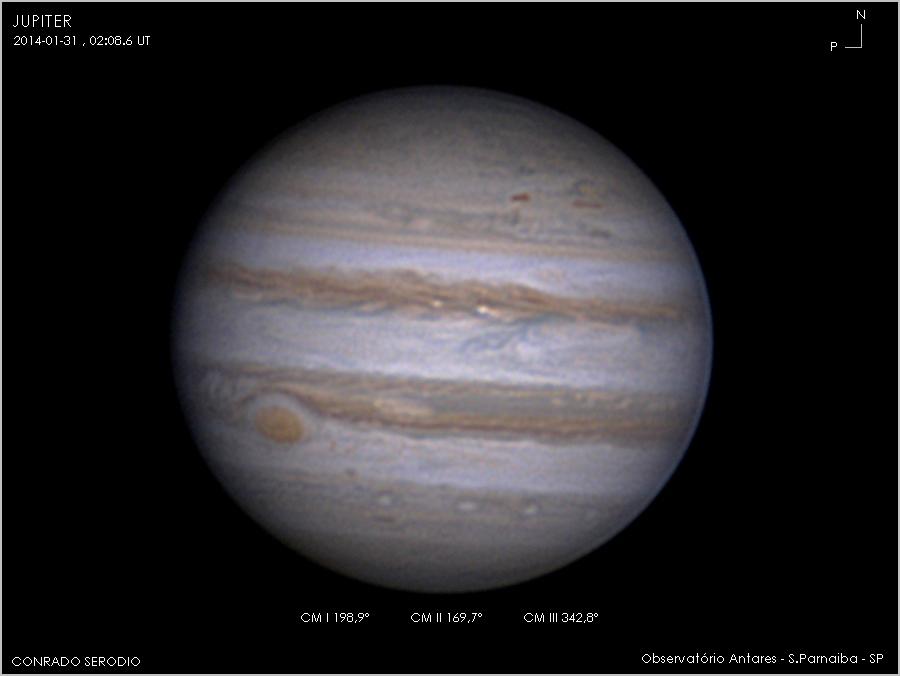 Jupiter e a Grande Mancha Vermelhha