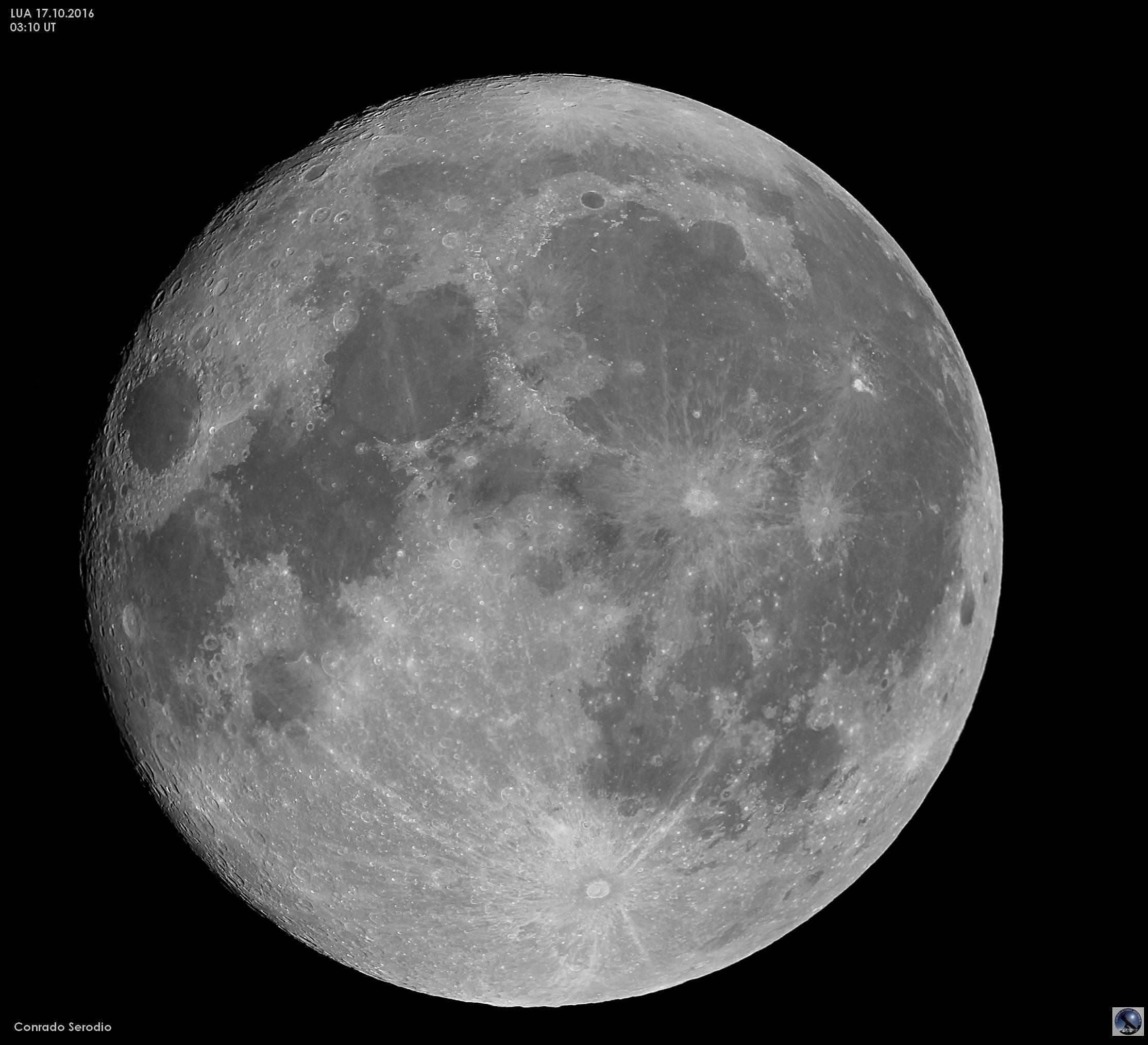 Super Lua em 17 Out 2016