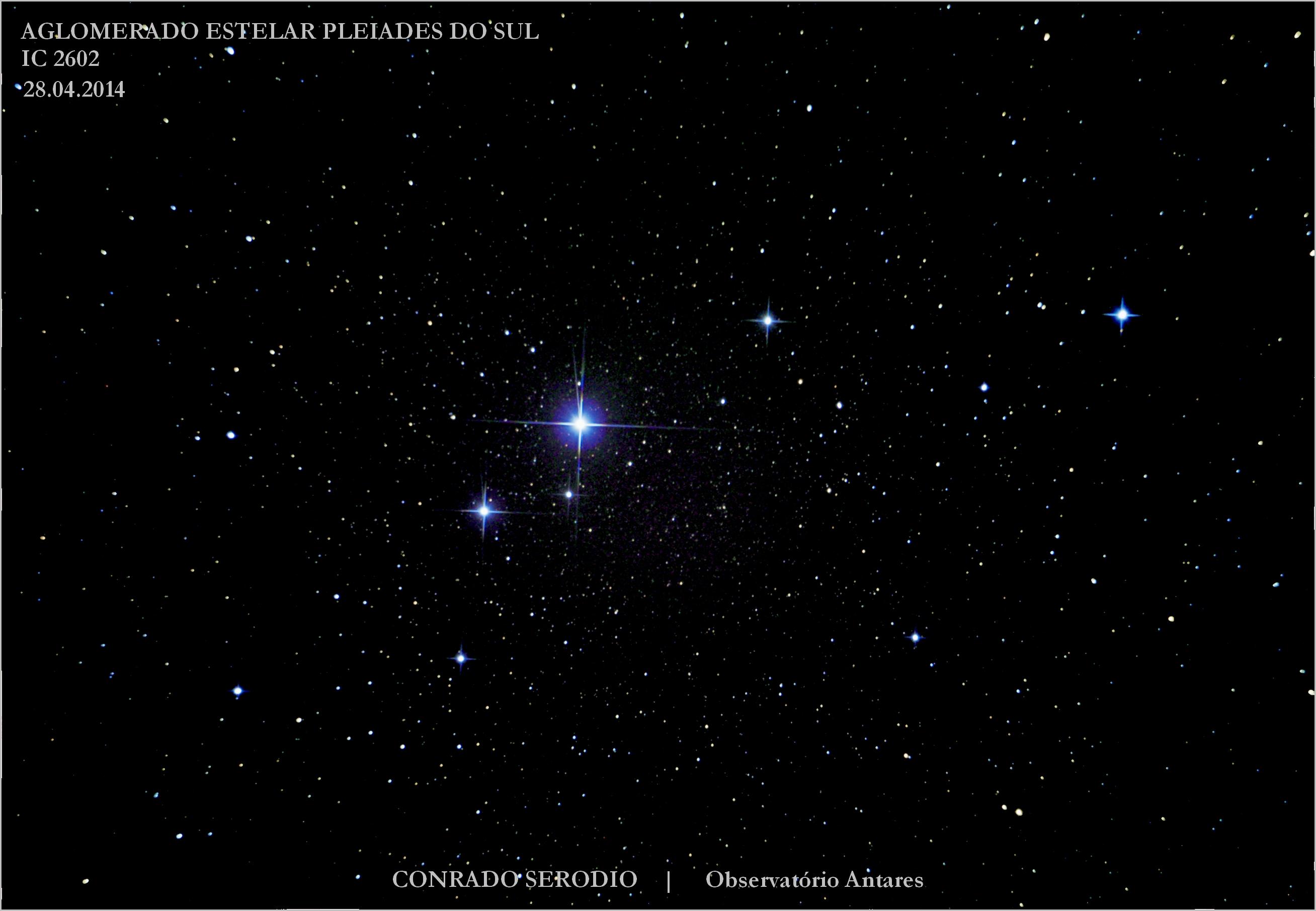 Pleiades do Sul 28 Abril 2014