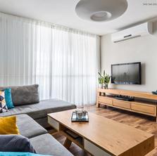 דירה בסגנון קלאסי מודרני בהרצליה