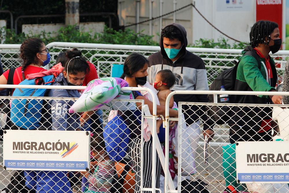 Inmigrantes venezolanos en Colombia durante pandemia del COVID-19