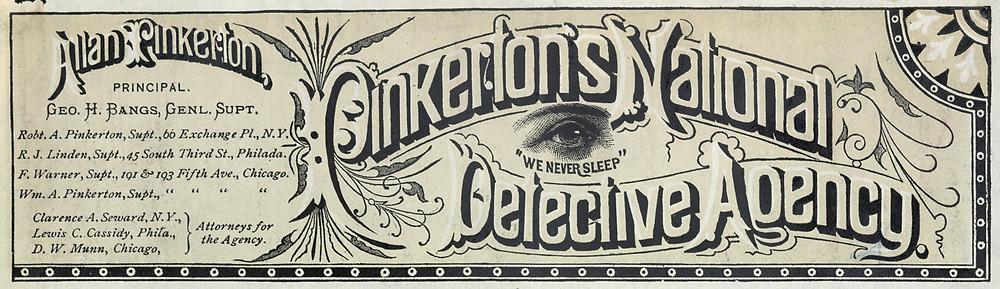Agencia de detectives privada Pinkerton