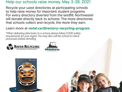 Northwestel Directory Recycling Program