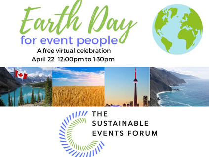 Earth Day For Event People April 22, 9-10 am PST