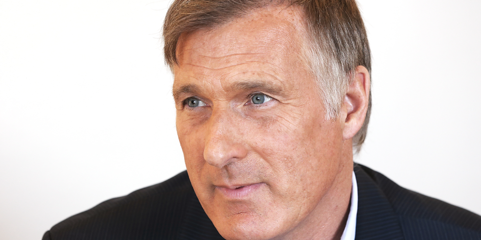 Yukon Chamber of Commerce Lunch with Maxime Bernier, Leader of the People's Party of Canada