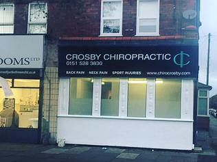 New Chiropractor Clinic | Crosby Chiropractic | Waterloo | Liverpool
