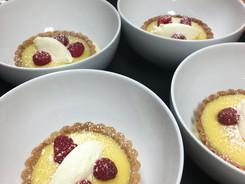 Lemon Meyer Tart with Marscapone