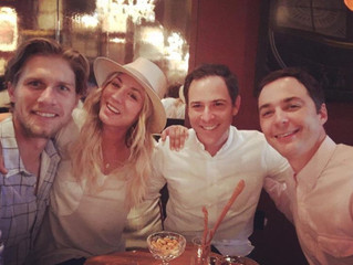Jim and Kaley double date