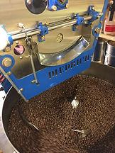 Atelier de torréfaction de café en grains