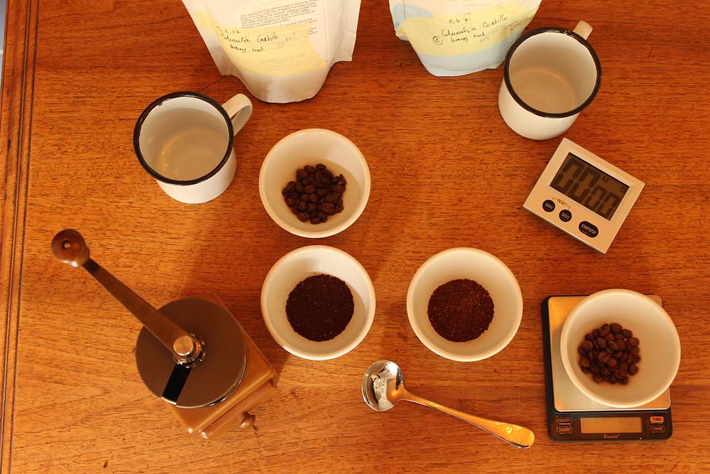 Atelier café chez Pouponne & Loulette
