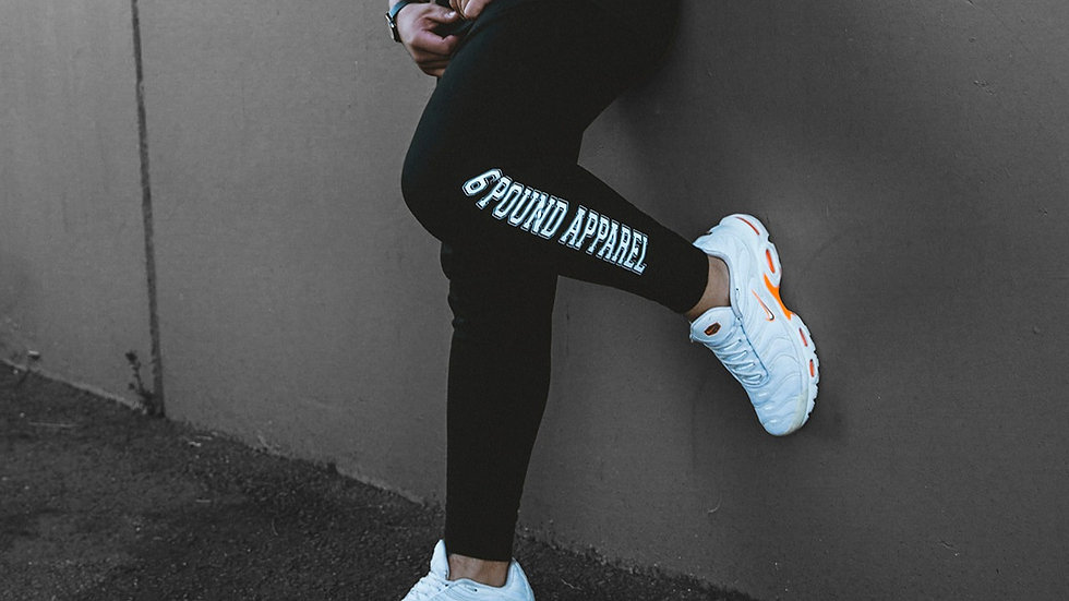 6pound cuffed terry joggers