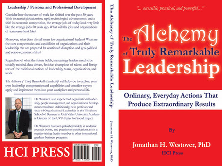 Release Day: The Alchemy of Truly Remarkable Leadership