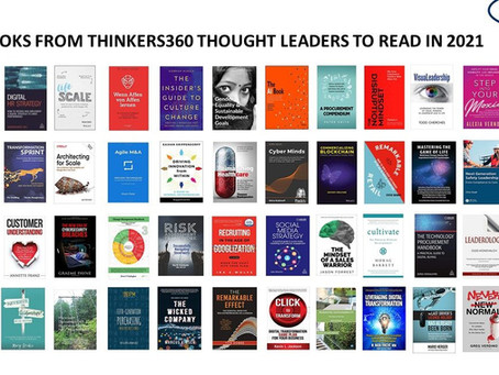 Featured on Thinkers360: 50 Books from Thinkers360 Thought Leaders You Should Read in 2021