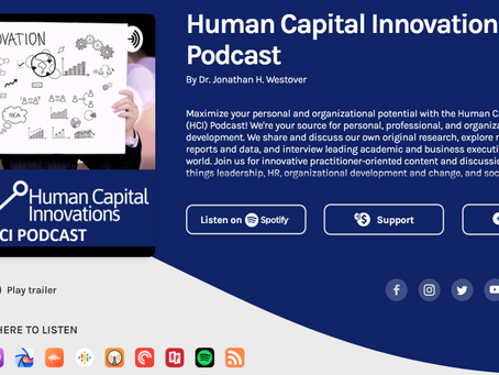 Banner Year for the Human Capital Innovations (HCI) Podcast!