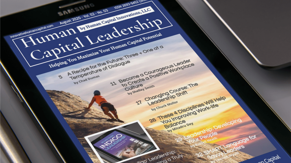 The August Issue of Human Capital Leadership is Now Out