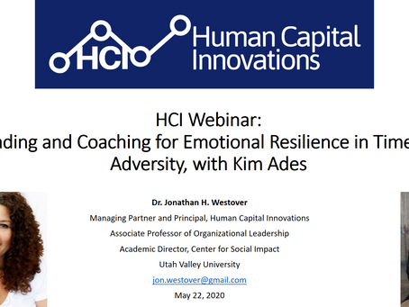 HCI Webinar: Leading and Coaching for Emotional Resilience in Times of Adversity