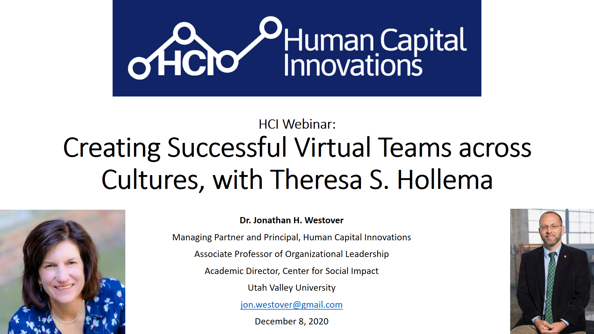 Creating Successful Virtual Teams across Cultures