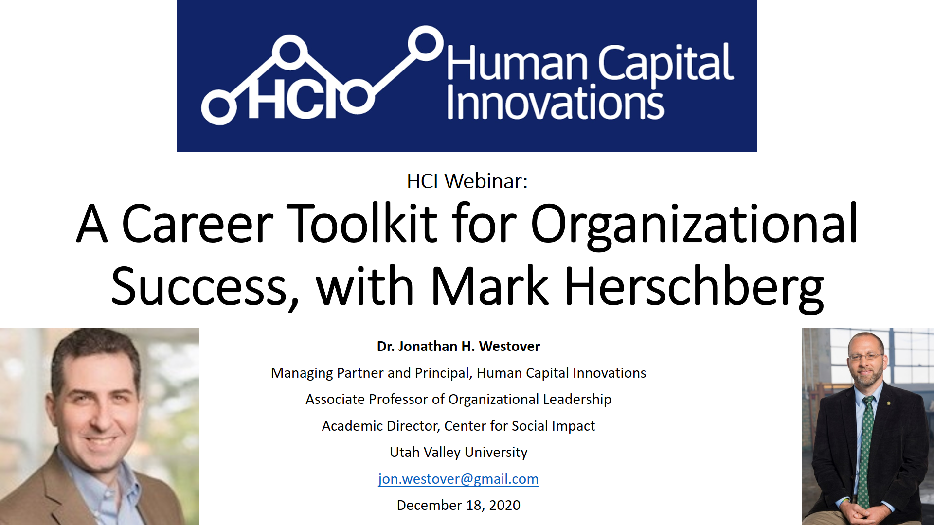 A Career Toolkit for Organizational Success