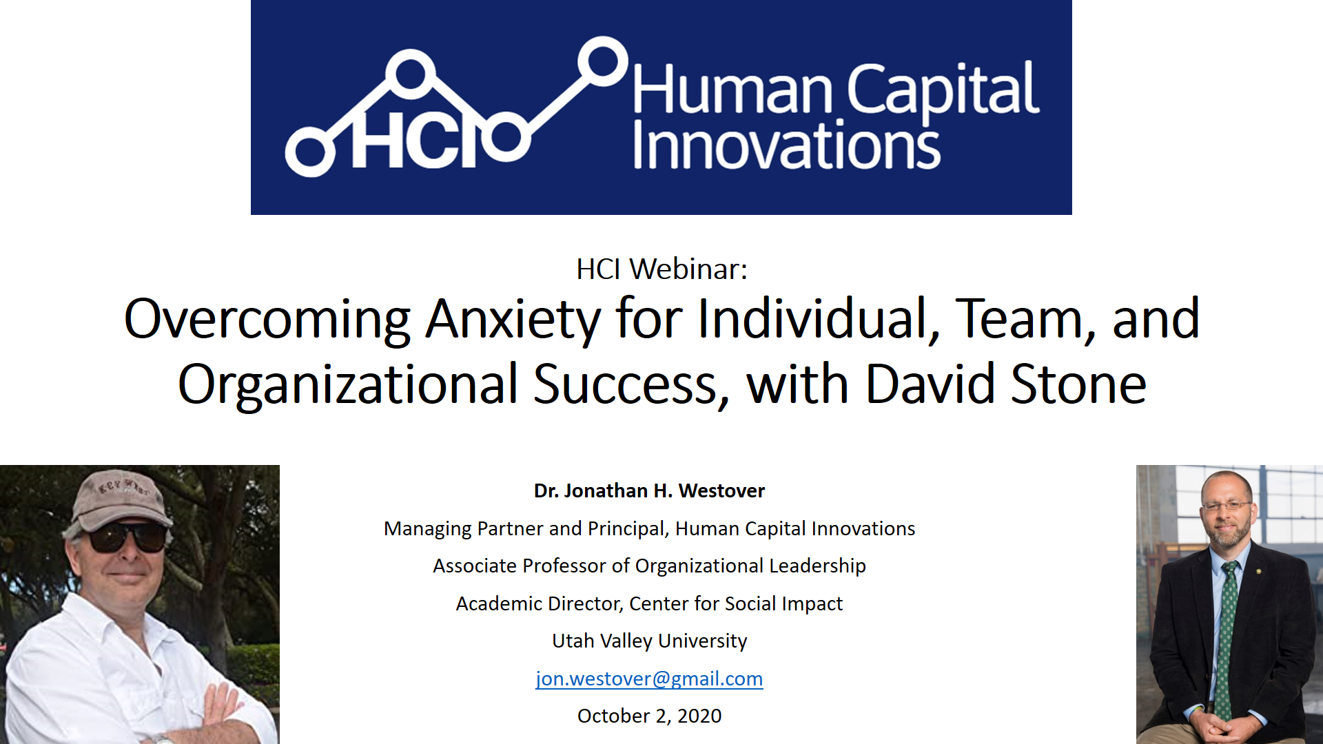 Overcoming Anxiety for Individual, Team, and Organizational Success