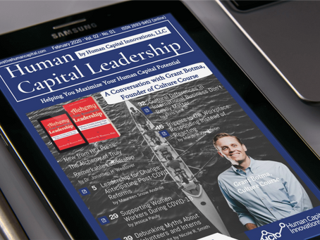 The February Issue of Human Capital Leadership Magazine is Out!