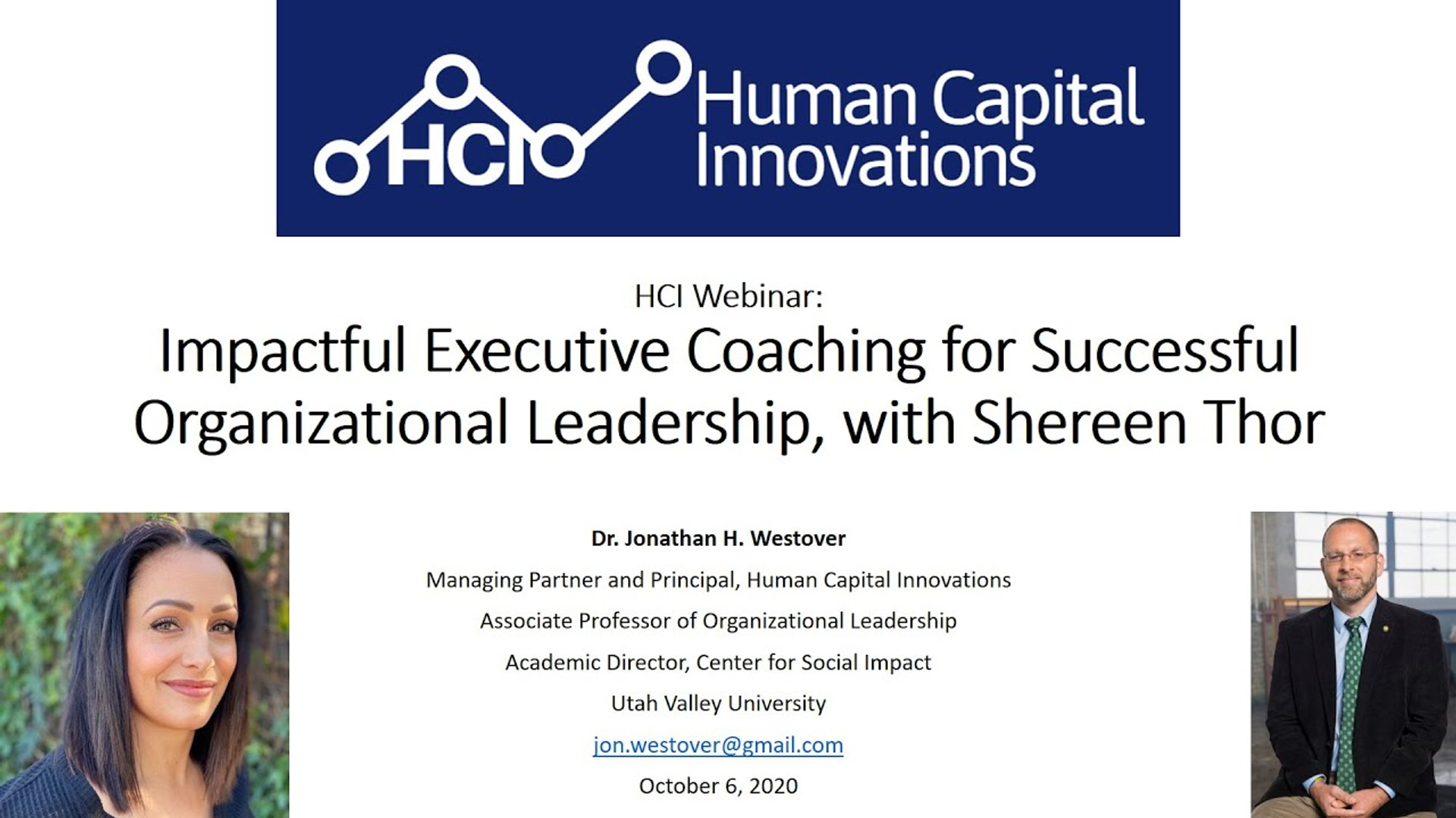 Impactful Executive Coaching for Successful Organizational Leadership